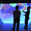 3-D cave lets University of Alabama in Huntsville students 'see' all sides of data